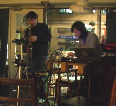 Matthew Yee-King and Finn Peters live in London March 2008